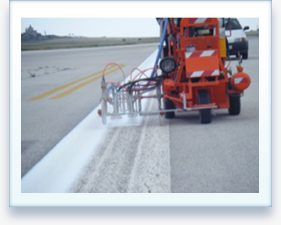 Self Propelled Road Marking Machine